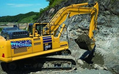 Komatsu Hydraulikbagger HB365LC-3 Hybrid